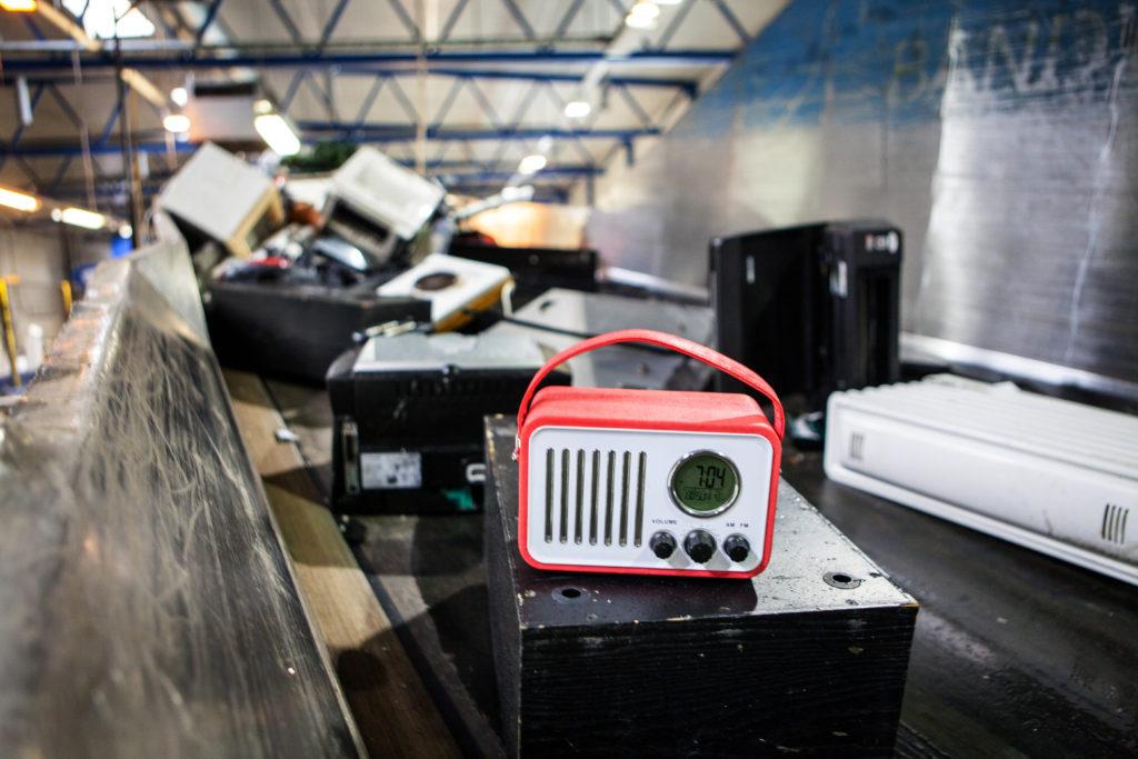 Oppgradering og gjenvinning av radioer