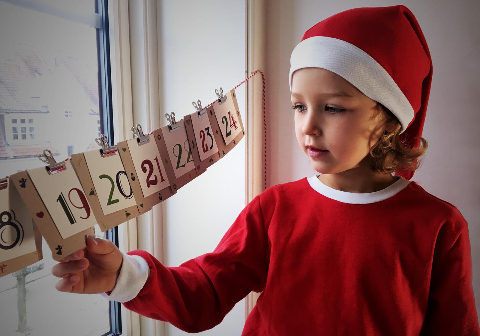 Årets adventskalender - gi mer kjærlighet og mindre ting