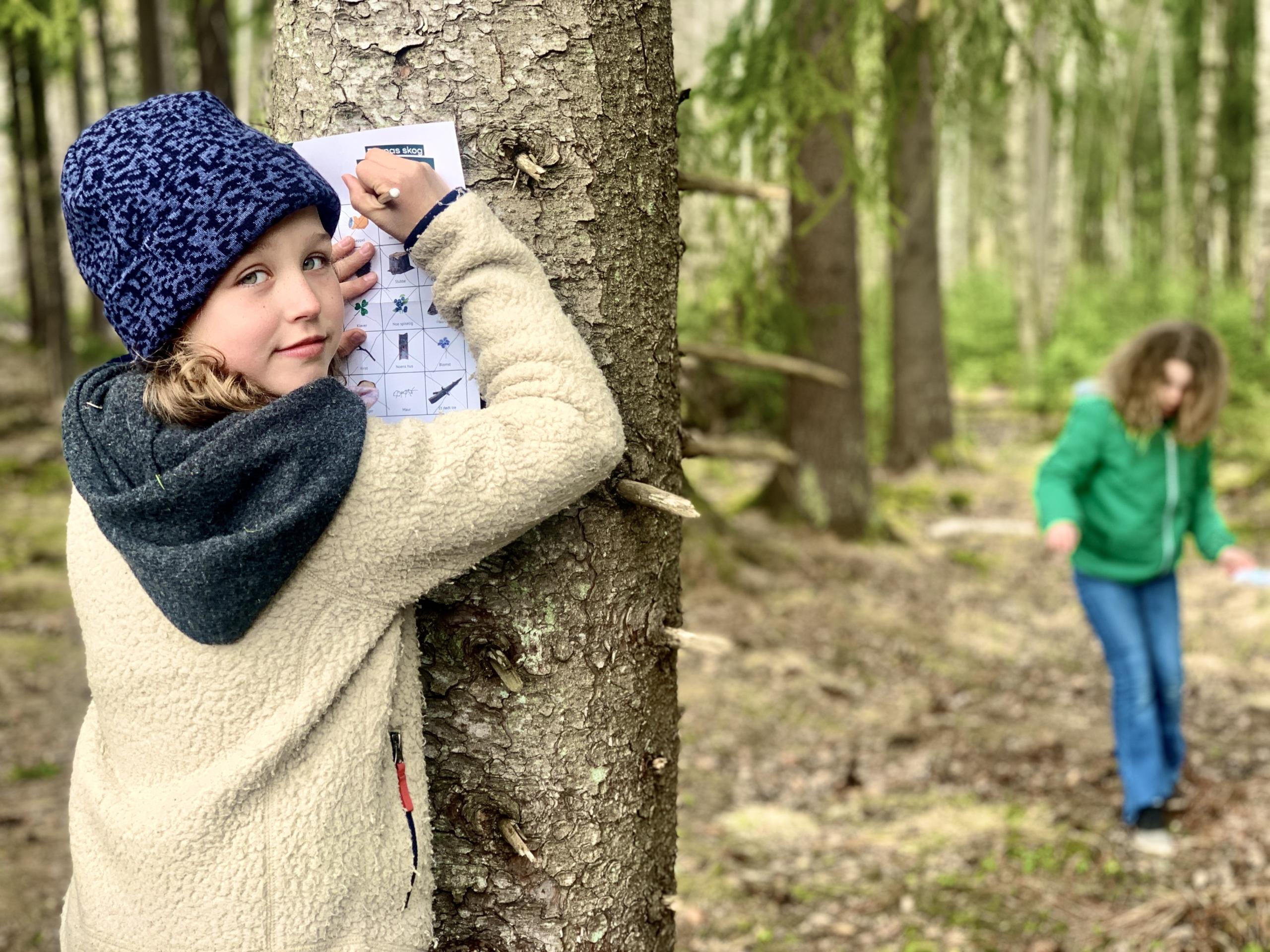 Gjør skogturen til en lek!